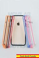 Carcasa Bumper Apple Iphone 6 Plus / 6s Plus 5.5 TPU Colores / Transparente