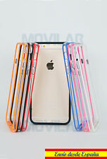 Carcasa Bumper Apple Iphone 6 Plus / 6s Plus 5.5 TPU Colores / Transparente