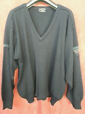 VINTAGE 80'S PAUL & SHARK JUMPER SIZE XL V COLLAR  MADE IN ITALY