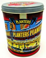 Vintage Planters Peanuts Nuts Tin 1998 Limited Edition Peanut Man 2nd in Series
