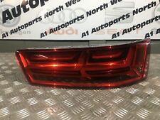 Audi Q7 4M 15-18 S-Line RHD Genuine Rear Right OSR Tailgate Light LED Dynamic