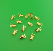 (1 PC) MMCX Female PCB Mount Straight RF Coax Connector - USA Seller