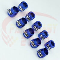 AN8 8AN -8 Hex-8 AN-8 Fuel Braided Hose Clamp Oil Line Fastener Hex Finisher L10