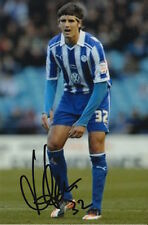 SHEFFIELD WEDNESDAY HAND SIGNED MIGUEL LLERA 6X4 PHOTO 1.