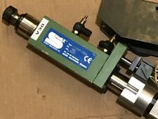 SOMEX MAX1HF-10000 SPINDLE broche AIR avance pneumatique advance SUHNER BEM 6 D