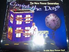 The New Power Generation ‎NPG – Count The Days Australian CD Single – Like New