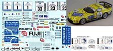 "1/43 Decal Dodge Viper ""Zakspeed"" Winner 24h Nürburgring 2001 + 2002"