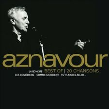 Charles Aznavour, Clayton-Hamilton Jazz Orchestra - Best of 20 Chansons [New CD]