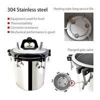 18 Liter Steam Autoklave Sterilisator Tattoo Dental Sterilization Equipment