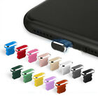 4Pcs Metal Anti Dust Plug Cover Charger Port Cap Phone for iPhone Accessories