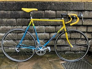"Vintage 1985 Harry Hall large 23.5"" Reynolds 531c Frame Gents Road Bicycle Mint!"