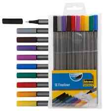 10 FINELINER im Set 0,4mm tolle Farben 10 Stück IDENA zum TOP-Preis extrafein