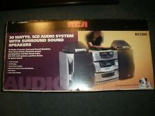 New listing Rca Rs1289 5-Disk Cd Changer Audio Surround Sound System Cassette Am/Fm New