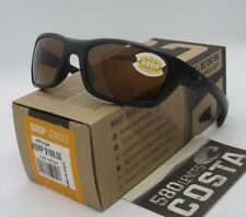 Nuevo Costa Del Mar Whitetip Gafas de Sol Polarizadas Opacas,/ Ámbar 580P 580