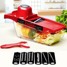 6 Blades Vegetable Cutter Potato Onion Grater Chopper Kitchen Accessories New