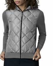Canada Goose Women's Hybridge Quilted Knit Hoodie SIZE LARGE SALE RETAIL $695