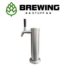 Intertap Single Beer Tap Tower Kit XLFP04 KegLand Kegerator Stainless Font Corny