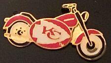 Kansas City Chiefs Motorcycle Pin- Very Cool Harley
