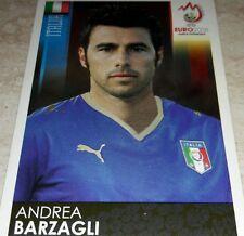 FIGURINA CALCIATORI PANINI EURO 2008 ITALIA BARZAGLI ALBUM