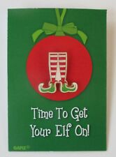 zzD Time to get your elf on Especially For You Christmas Pin Jewelry