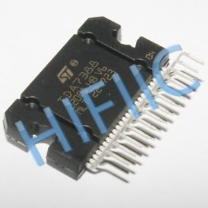1PCS TDA7388 4X41W QUAD BRIDGE CAR RADIO AMPLIFIER ZIP25