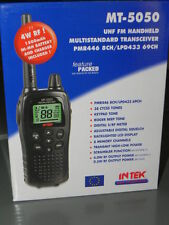 INTEK MT-5050 EXPORT DUAL BAND PMR446/LPD433  Modificato a 149 CANALI 4WATT RF !