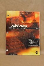 2003 Skidoo 4-Tec Legend Grand Touring Repair Shop Service Supplement Manual
