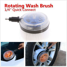 Car Pressure Washer Rotating Wash Brush Care Washing Tool W/ 1/4'' Quick Connect