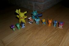 Nintendo Pokemon Action Figures Toy Lot  Tomy  Jakks 2012 Pikachu