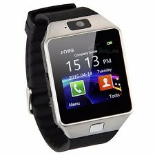 W-09 1.54'Touch ScreenWatch Phone quad band single SIM card Bluetoot cell Phone
