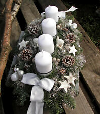 frisch gebunden ca.40cm Türkranz Adventsgesteck Adventskranz Wandkranz