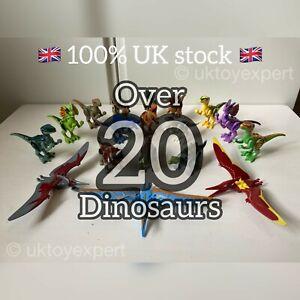 Dinosaur Jurassic Building Block Figurine | Fits Major Brand | Over 20 Options