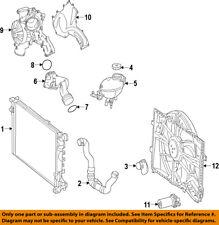 Mercedes MERCEDES-BENZ OEM 13-15 GL550 Radiator Coolant-Lower Hose 1665008575