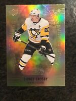 2019-20 Upper Deck Tim Hortons Gold Etchings Sidney Crosby GE-10