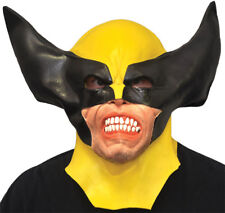 Wolverine Adult Latex Mask X-Men Halloween