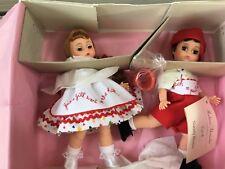 JACK AND JILL Doll  SET #14626  BOX Collectors Dream Madame Alexander NIB