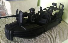 Lancha asalto SEAL Playmobil custom soldado 1:18