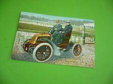 406KA2 Postkarte um 1903 mit Bayern 5 Pfennig: Auto (Oldtimer) vor Sportplatz