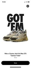 Nike Travis Scott AIR MAX 270 Cactus Trails CT2864-200 Size 10 Confirmed Order