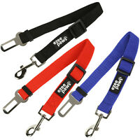 Pet Dog Seat Belt Clip Lead For Car Safety Restraint Harness Adjustable Length