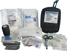 "Elite First Aid Gunshot Trauma Kit 8"" x 6"" x 3.5"" Black"
