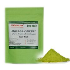 FORUN Organic Matcha Green Tea Powder 100G- Up to 200 Serves
