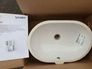 Duravit Foster Undermounted Basin Patch pool Basin 430 mm x 280 mm