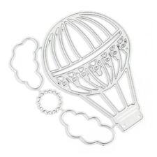 Hot Air Balloon Cloud Metal Cutting Dies Stencil DIY Scrapbooking Paper Cards