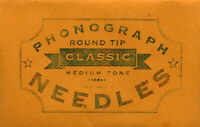 High Quality PHONOGRAPH needles 50 pcs for VICTROLA, PATHE, etc FREE SHIPPING
