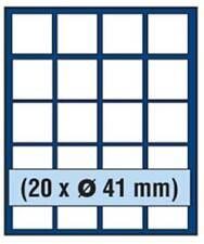 SAFE 6841 NOVA Element exquisite Holz-Münzbox für 20 Münzen mit 41 mm Durchmesse