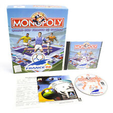 Monopoly: coupe du monde France 98 EDITION Pour PC CD-ROM BIG BOX par Hasbro, 1998