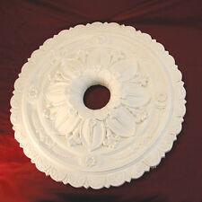Ceiling Rose Center Plaster. Amazing 610mm Holed Center ideal for restorations