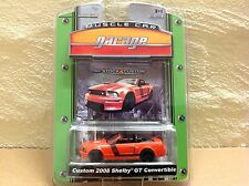 1:64 GREENLIGHT MUSCLE CAR GARAGE - CUSTOM 2008 MUSTANG SHELBY GT COVERTIBLE