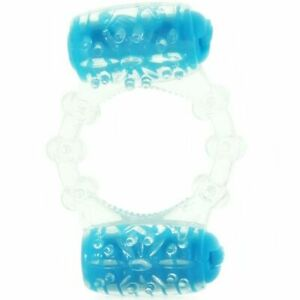 Color Pop Big Screaming O Color Pop Two-o Penis Ring Blue Sex Toys for Male
